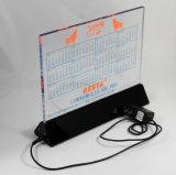 Personalizzare il blocco per grafici magnetico illuminato acrilico della foto della radura della cornice del plexiglass