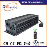 630W arrefecido a ar Digital balastro electrónico do capô crescer o sistema de luz