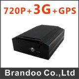 HD 720p車の手段移動式DVRのサポート4G/GPS/WiFi