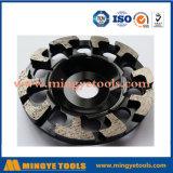 Tipo especial de copa abrasivos roda para Ferramentas de moagem