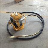 Vibrador concreto da gasolina da gasolina do pisco de peito vermelho