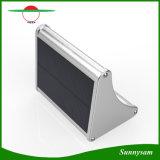 마이크로파 레이다 정원 야드 안뜰을%s 태양 운동 측정기 빛 24 LEDs 밝은 방수 옥외 빛 벽 램프