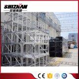 Shizhan 400*600mmの正方形のアルミ合金ボルトまたはねじトラスWihの三角形の強さの版