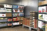 Aço revestido a epóxi Verde bricolage Warehouse Estantes de fio metálico de armazenamento de Rack (HD214878A6EW)