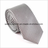 Cravate professionnelle de modèle de relation étroite en soie de la coutume 100%