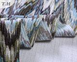 Le tissu de sofa de jacquard de configuration de zigzag en 2017