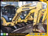 Gebruikt KOMATSU pC30mr-2 het MiniGraafwerktuig van het Kruippakje van Gebruikt MiniGraafwerktuig pC30mr-2