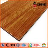 Plastique composite en bois et en granit Panneau en aluminium avec le meilleur prix Excellente couleur (AE-302)