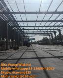 Aço pré-fabricado da estrutura vertido/edifício da construção aço do armazém/oficina