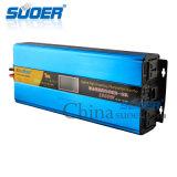 De Frequentie van Suoer Photovoltaic 1000W gelijkstroom 24V aan AC 220V de Omschakelaar van de Golf van de Sinus (zoon-SUW1500VA)
