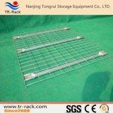 Decking galvanizzato della rete metallica della Manica invertita per racking del pallet