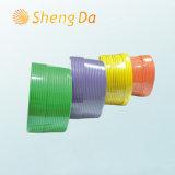 Câble coaxial isolé isolé en PVC de 75 ohms avec messager