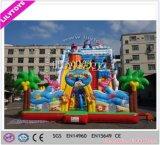 Populärer Riese Belüftung-materieller aufblasbarer eindeutiger Spaß-Park Lilytoys