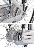 Bici eléctrica de la ciudad delantera del motor impulsor con el desplazador interno de la velocidad