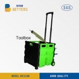 中国の収納箱の緑の新しい電力の工具セットボックス