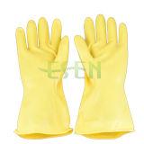 Перчатки индустрии, кисловочные перчатки неопрена доказательства, резиновый перчатки