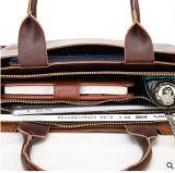Pacote de Crossbody do saco de ombro da bolsa da pasta do negócio dos homens