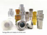 Yaa ISO7241-1Aはタイプ油圧鋼鉄の速いカップリングを閉じる