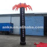 販売のためのBloweringの屋外のタイプ膨脹可能なカニの空気ダンサー