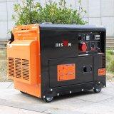 Consumo de combustível Diesel do gerador do valor da potência do bisonte (China) BS6500dse 5kw 5kVA 5000W por a hora para a HOME