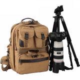 2017 zaino funzionale della macchina fotografica del sacchetto della macchina fotografica della tela di canapa DSLR Digitahi di marca multi (RS-C007)