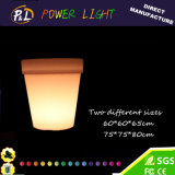 Waterproof Outdoor Solar iluminado LED Flower Pot