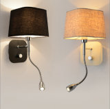 호텔 침대 곁을%s 대중적인 LED 독서 벽 램프 빛 점화