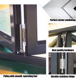 De dubbele Glas Aangepaste Deur van de Gordijnstof van het Aluminium van de Grootte