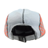 Orange 5 Panel Camper Cap Summer Supreme Hat
