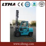 De concurrerende Diesel van de Vorkheftruck van 3.5 Ton van de Prijs Chinese met Cabine