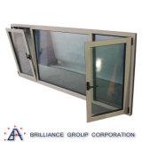 Doppeltes Glasverlegenheits-Fenster und Aluminium-Neigung-und Drehung-Fenster