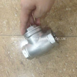 Water Valve-Stainless Steel Thread Connection Swing Check Valve