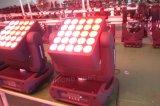 Éclairage d'étape de la matrice DEL de l'éclairage 25PCS*10W de DEL avec l'ampoule de DEL