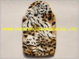 Leopard sac d'eau chaude de la conception d'impression couvercle en peluche