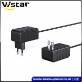 adaptateur d'alimentation de C.C à C.A. de chargeur de la batterie 12V pour l'appareil-photo de télévision en circuit fermé