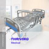 2 크랭크 강철 병원 수동 침대 (THR-MB220)