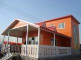 Chalet prefabricado de acero de la casa con ISO9001