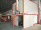 Línea de pintura automática de la capa del polvo del transportador