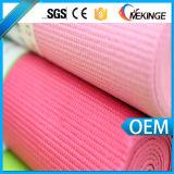 Blanc personnalisé de couvre-tapis de yoga de gymnastique de fournisseur chinois