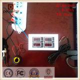 Port du multimètre numérique TTL d'énergie de pouvoir d'ampèremètre de tension monophasé DEL 100A à C.A.