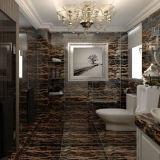 Mattonelle di marmo Polished naturali della parete della stanza da bagno del pavimento della pietra del granito della Cina