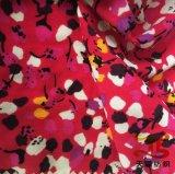 Полиэфир 100% Ткань Крепировать De Подбородок Ткань для платья женщин