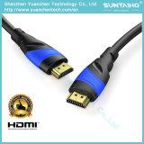 Home audio HDMI de alta velocidad de cable para TV HD