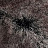 Tessuto lungo artificiale della pelliccia del mucchio della pelliccia del Faux della pelliccia di falsificazione della pelliccia del mackintosh