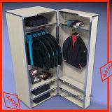 Prateleira de armazenamento de Exibição de prateleira de madeira para roupas