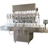 Máquina de rellenar líquida linear y máquina de etiquetado de la empaquetadora de la máquina que capsula