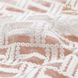 As telas de seda da guarnição do laço do leite de L20012 130cm vendem por atacado no rolo