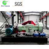 Compresseur de membrane de gaz de Borane pour la pression amplifiant pour l'usine chimique