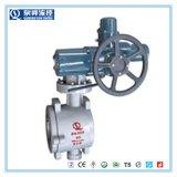 Quanshun Wafer Tipo Válvula de bola semi para el sistema de disolución de la sal fundida