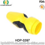 650ml Squeeze PE vaso de desporto de plástico com tampa de plástico sem BPA Sport garrafa de água (HDP-0397)